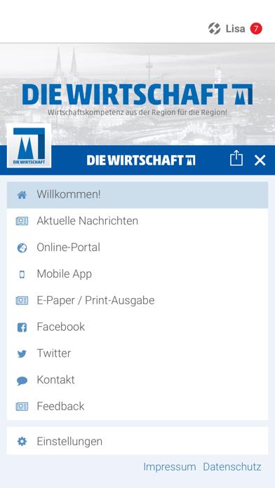 Wirtschaft Köln screenshot 2