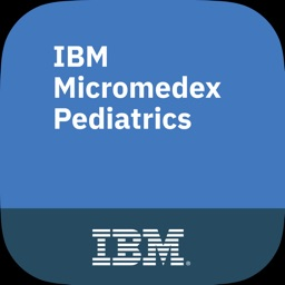 IBM Micromedex Pediatrics Ref