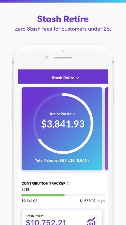 Stash: Invest. Learn. Save. screenshot-3
