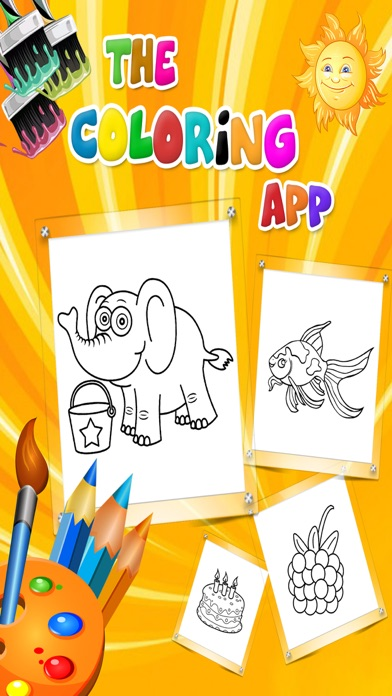 Kids Coloring Book - Colouring Doodle Fun for Kids Learning ...