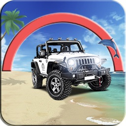 Real Water Surfer: Epic Beach Car Driving