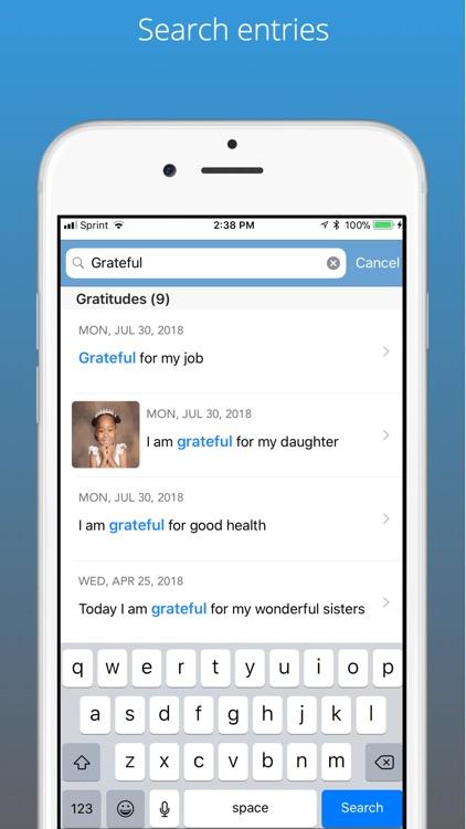 Simpler Gratitude Journal screenshot-3