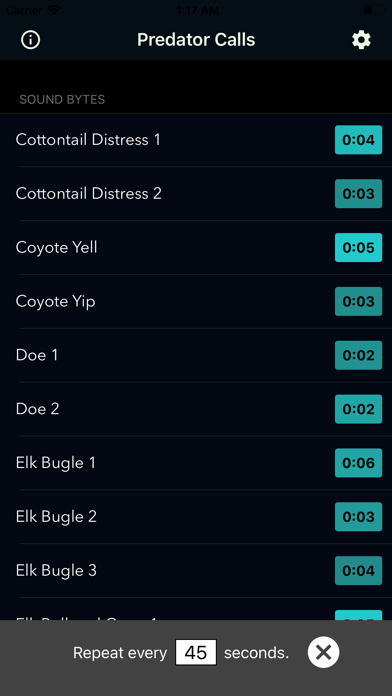 Coyote Calls & Predator Sounds screenshot 1