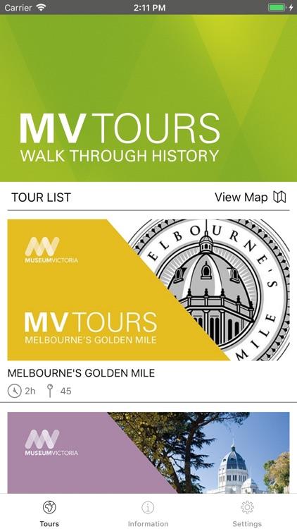 MV Tours: Walk Through History
