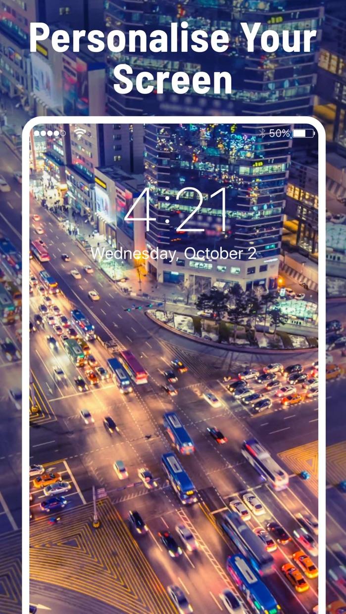 Fancy Wallpaper & Lock Screen Screenshot