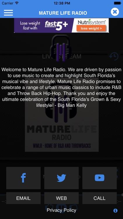 Mature radio