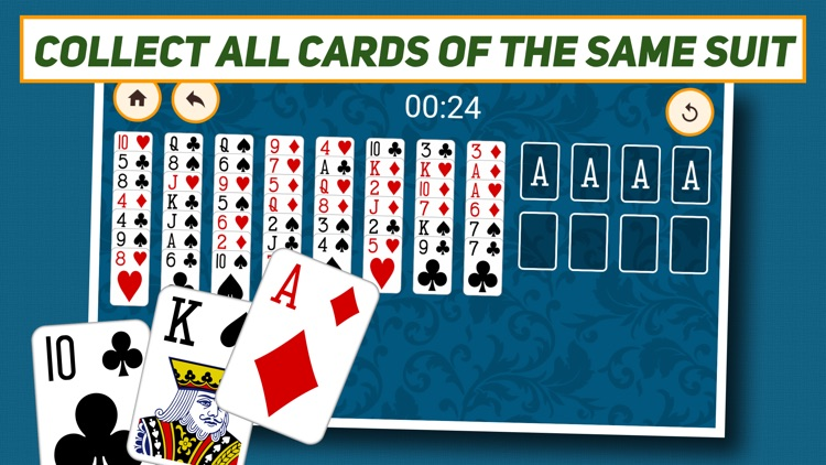 FreeCell Solitaire: Classic.