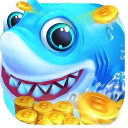 捕鱼游戏-真人抢金币