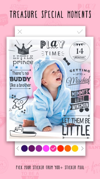 Giggly- baby tracker pics app