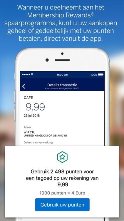 Amex Nederland screenshot-3