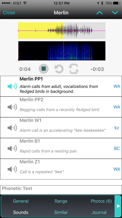 iBird UK Pro Guide to Birds screenshot-4