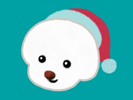 27 christmas sticker & happy new year message sticker pack