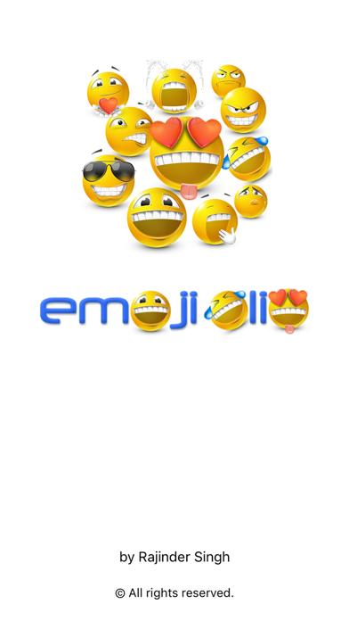 EmojiOlio screenshot one