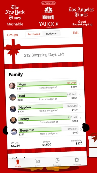 download The Christmas List apps 0