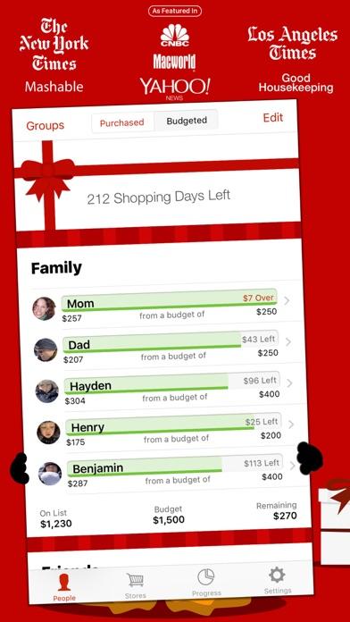 The Christmas List Screenshot