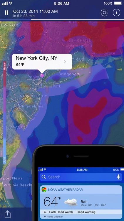 NOAA Weather Radar Live screenshot-4