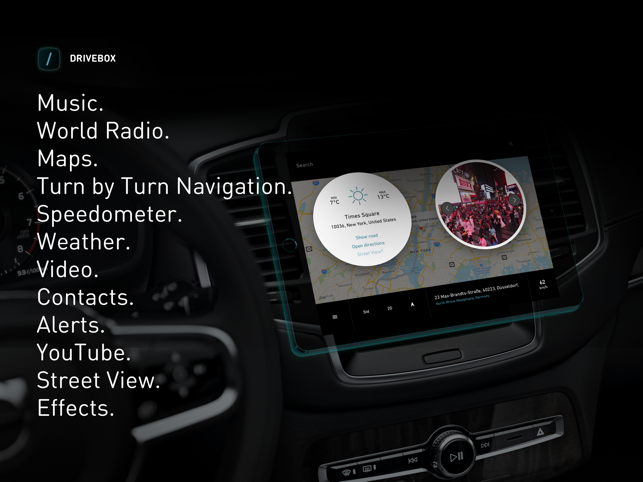Drive Box - The Car Stereo App Screenshot