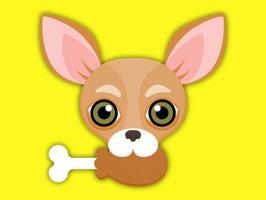 Animated Tan Chihuahua