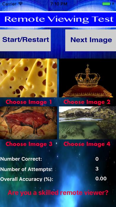 Remote Viewing Test screenshot three