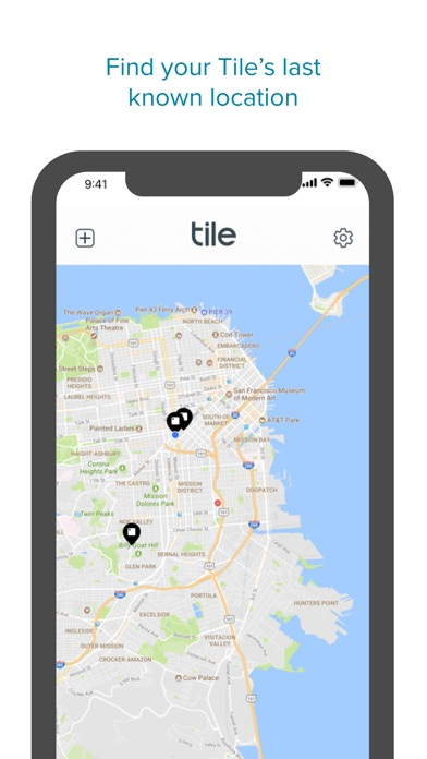 Tile - Find lost keys & phone