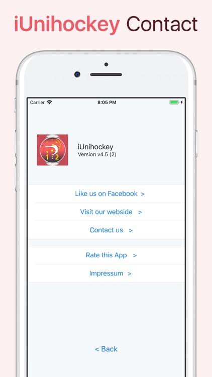 iUnihockey screenshot-5