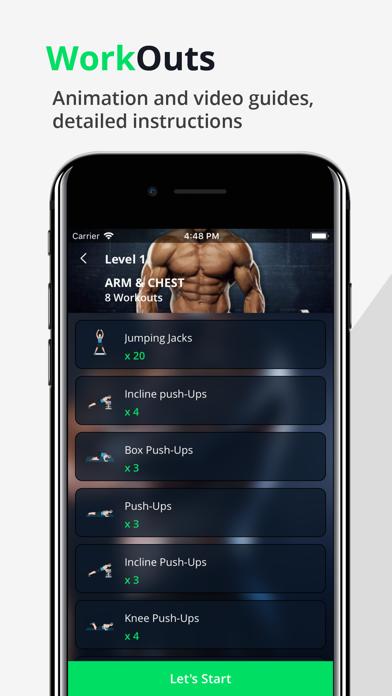 Home Fitness WorkOut screenshot three