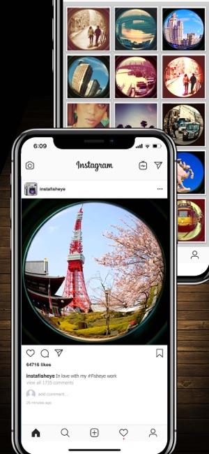 InFisheye Lite for Instagram on the App Store