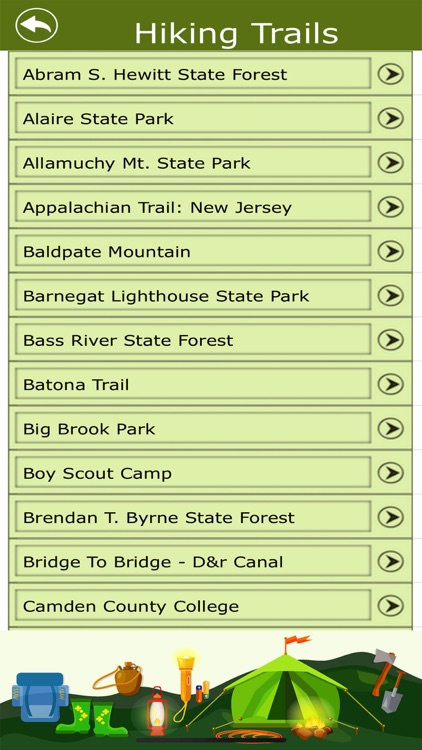 New Jersey Campground & Trails screenshot-3