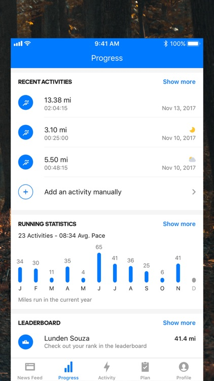 Runtastic Running: Run Tracker screenshot-3