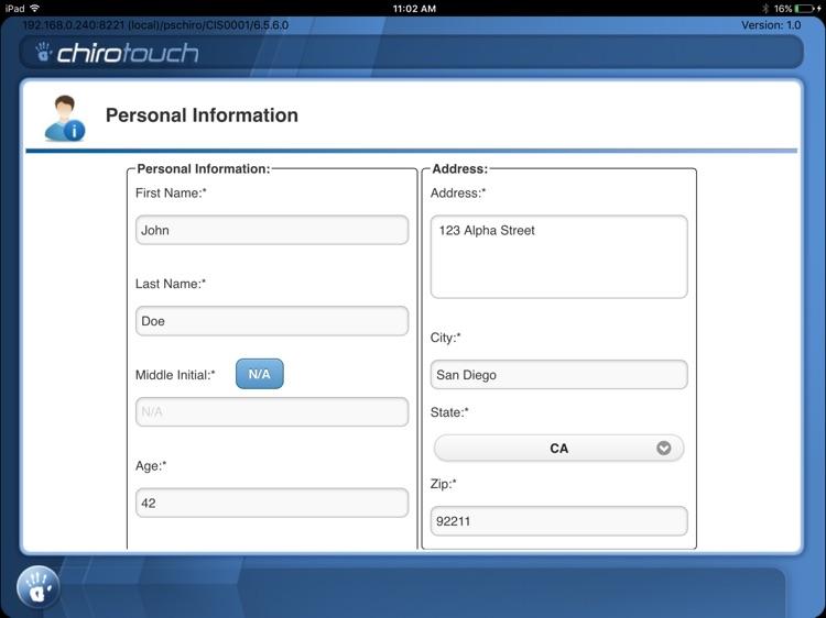 CT Intake Mobile 7.0 screenshot-3