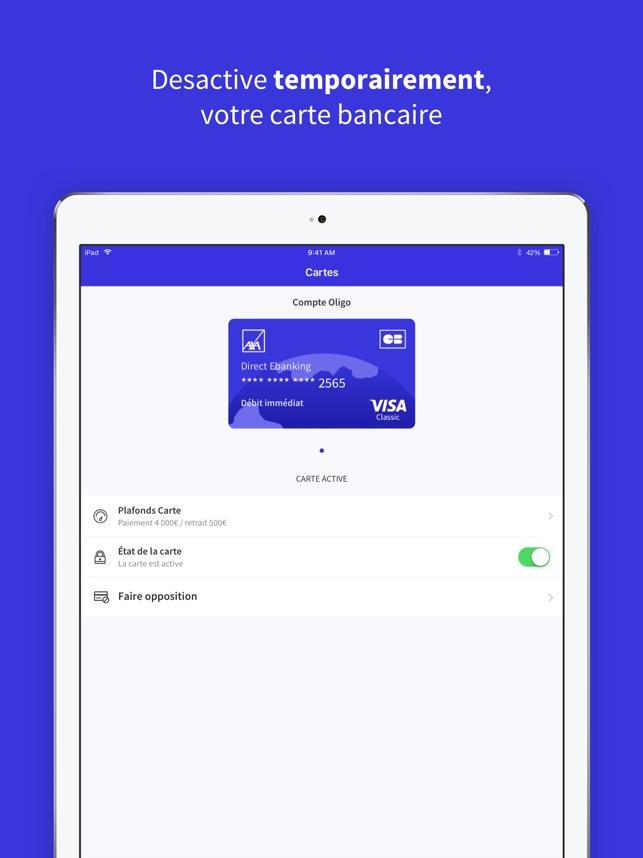 Axa Banque Dans L App Store