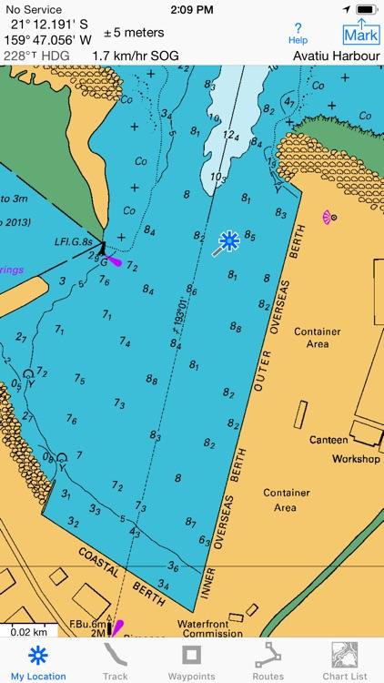 i Sail GPS NZ–NZMariner Charts screenshot-4