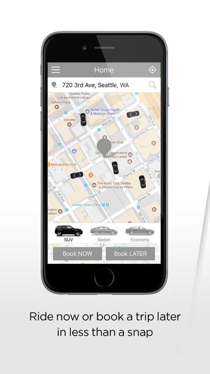 Ecar - The passenger app