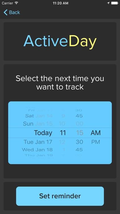 ActiveDay – Activity Study screenshot-4