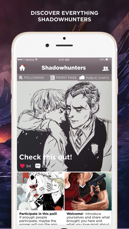 Amino for Shadowhunters