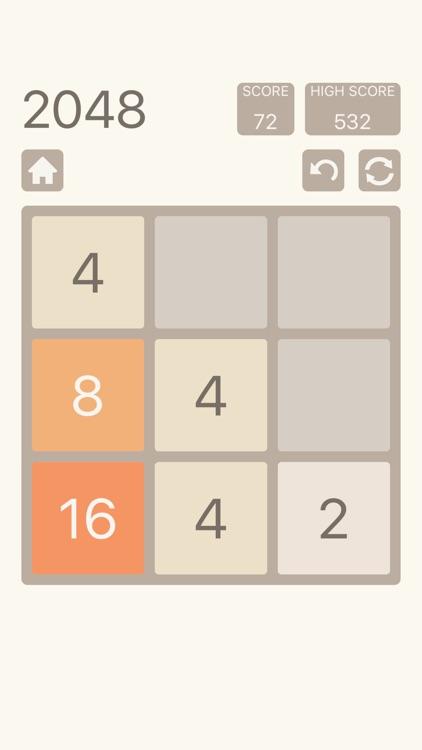 2048 Plus: Number Puzzle Game screenshot-4