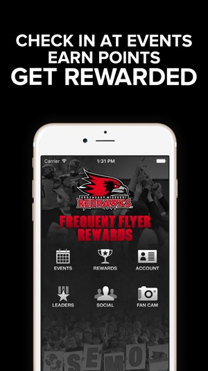 redhawks flyer rewards on the app store