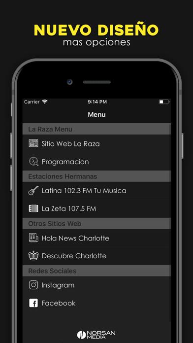 La Raza 106.1 screenshot two