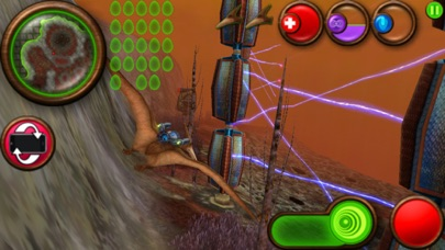 Screenshot from Nanosaur 2