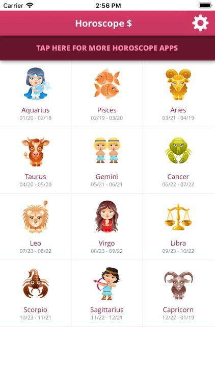 Horoscope $ screenshot-3