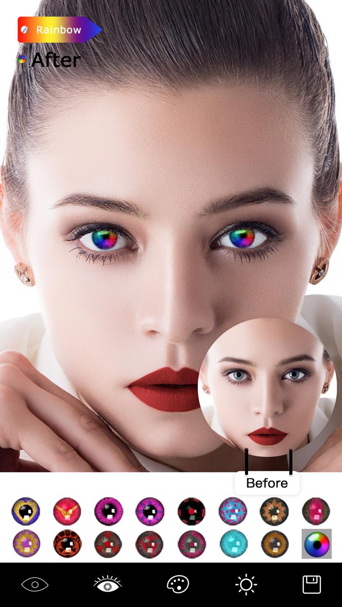 Magic Eye Color-Face Makeup Screenshot