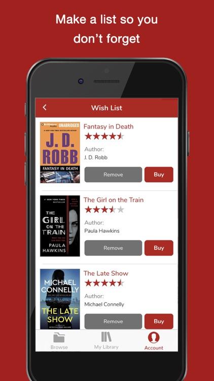 Audiobooks Now Audio Books screenshot-4