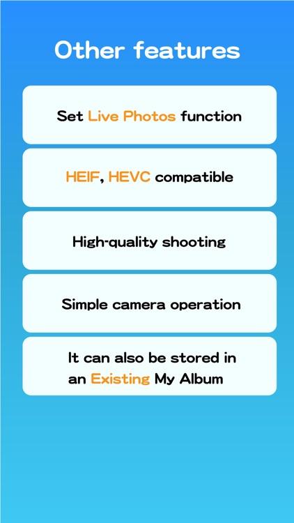 AlbumCamera -Organize Camera- screenshot-4