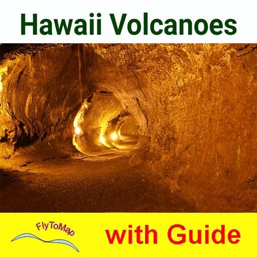 Hawaii Volcanoes National Park - GPS Map Navigator
