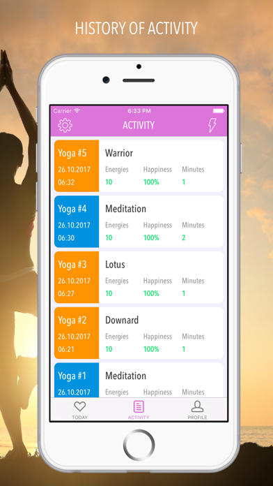 Yoga - Meditation and Workout screenshot three