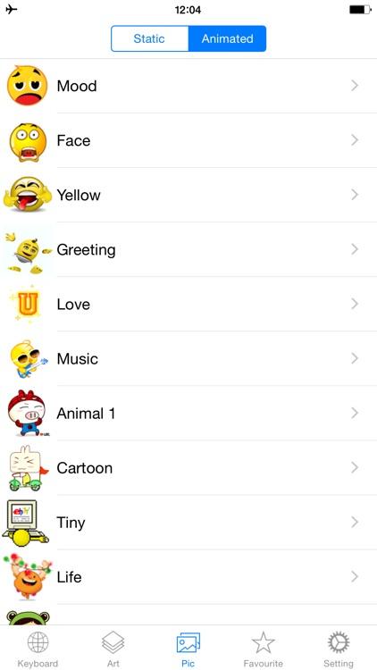 Emoji Keyboard Emojis Me Maker screenshot-4