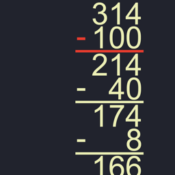 Ícone do app Left-to-Right Subtraction