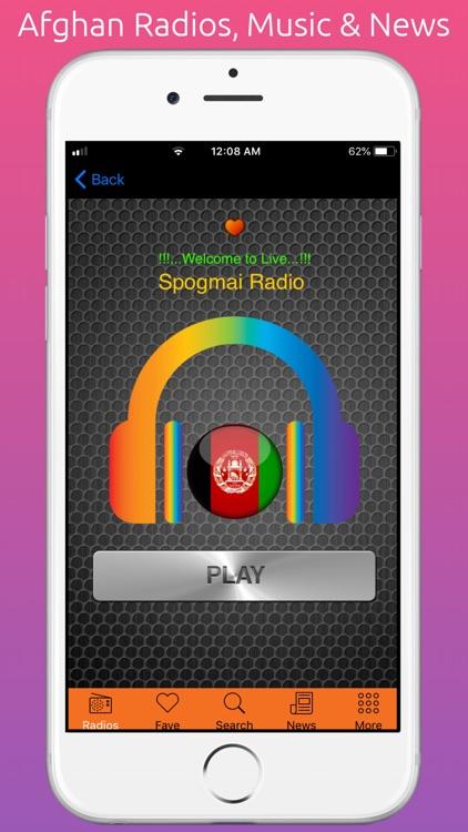 Afghani Radios, Music & News