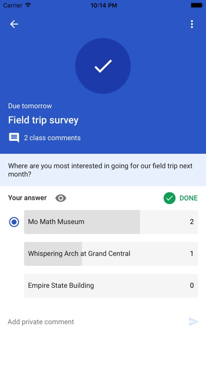 Google Classroom screenshot-4