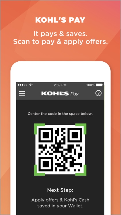 Kohl's App: Scan, Shop, Pay and Save